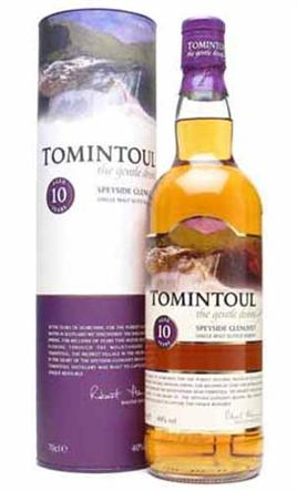 Tomintoul Scotch Single Malt Aged 10 Years Glenlivet